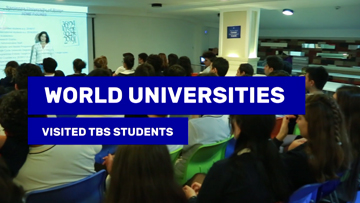 World Universities visited TBS Students