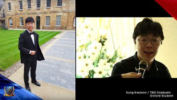 TBS Graduate: Sung Kwonon - He's an Oxford student!